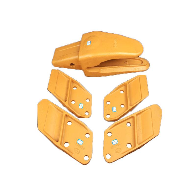 Custom Yellow Bucket Cutting Edge Replacement